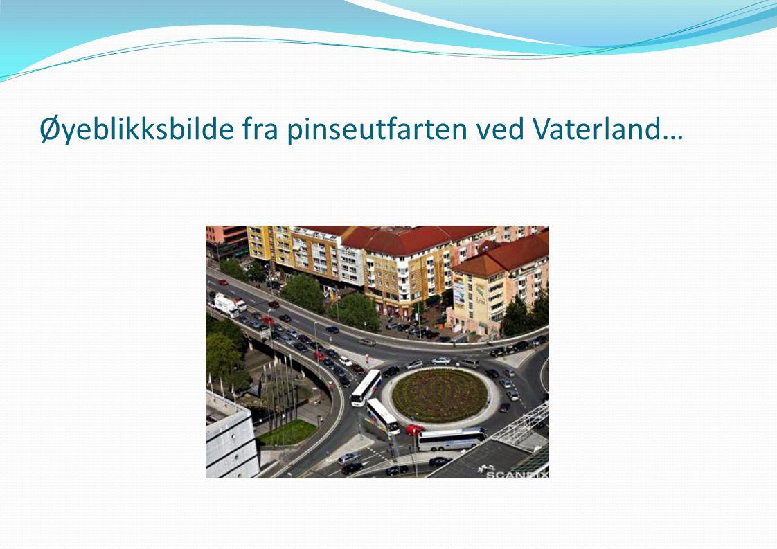 Øyeblikksbilde fra pinseutfarten ved Vaterland…