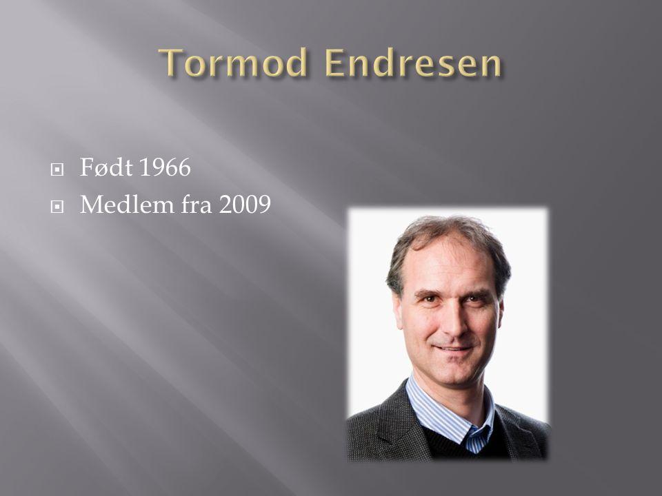  Født 1966  Medlem fra 2009