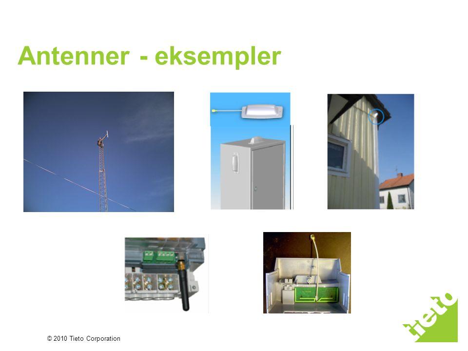 © 2010 Tieto Corporation Antenner - eksempler