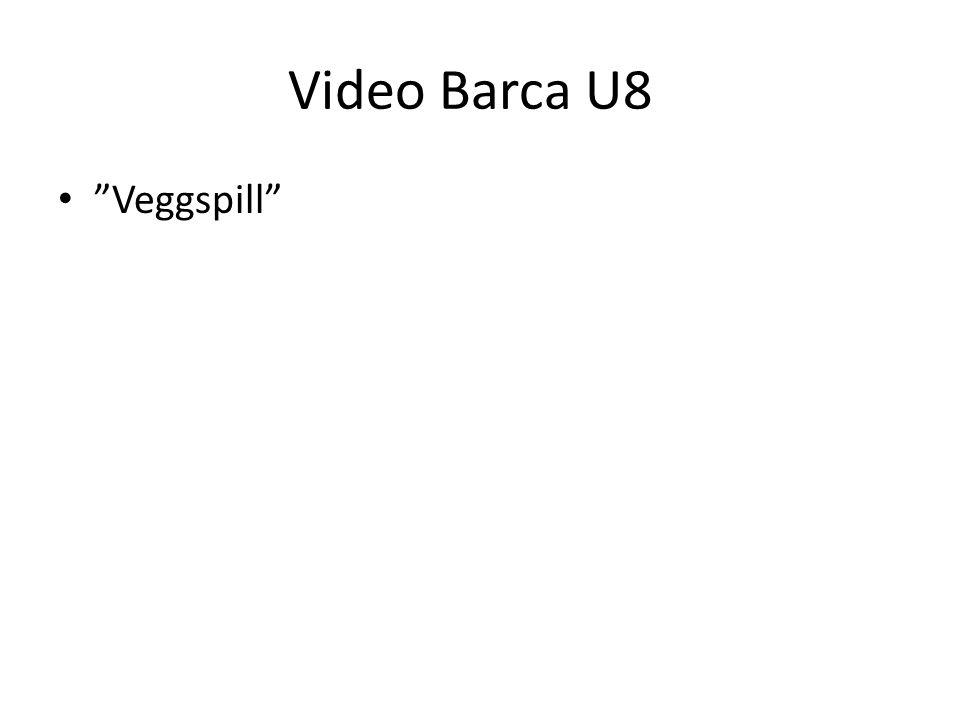 """Video Barca U8 • """"Veggspill"""""""