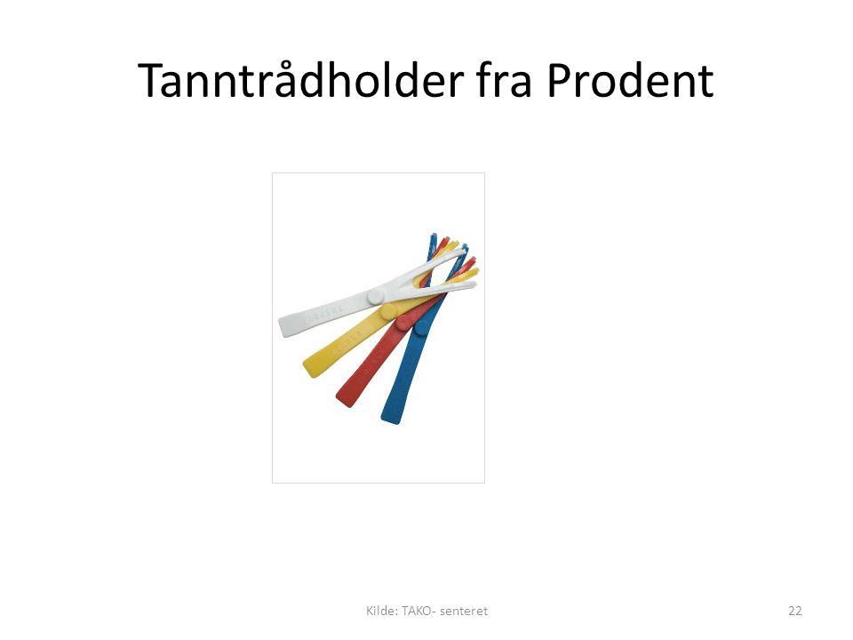 Tanntrådholder fra Prodent Kilde: TAKO- senteret22
