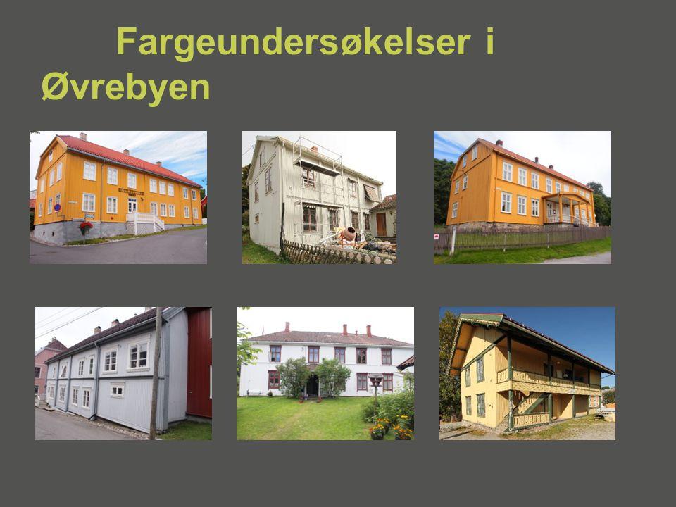 Fargeundersøkelser i Øvrebyen