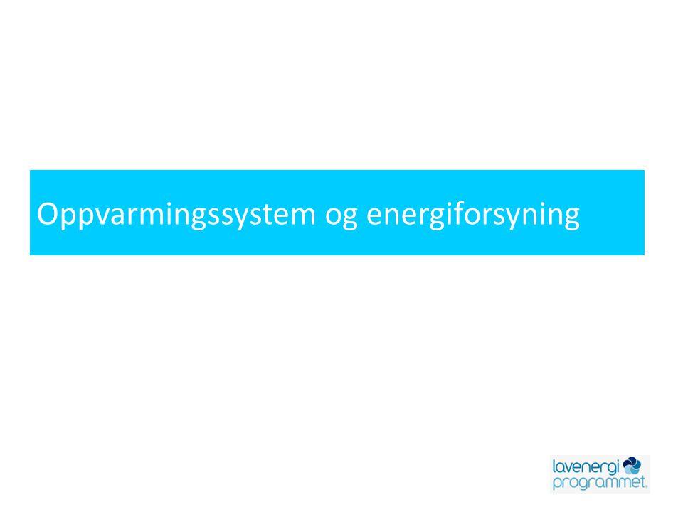 Energikildenes egnethet TappevannRomoppvarmingTappevann og romoppvarming SolfangerX(X) BiobrenselXX Varmepumpe luft - luftX Varmepumpe luft – vannX Varmepumpe vann - vannX FjernvarmeX Varmepumpe og solfangerX(X) Solfanger og biobrenselXX