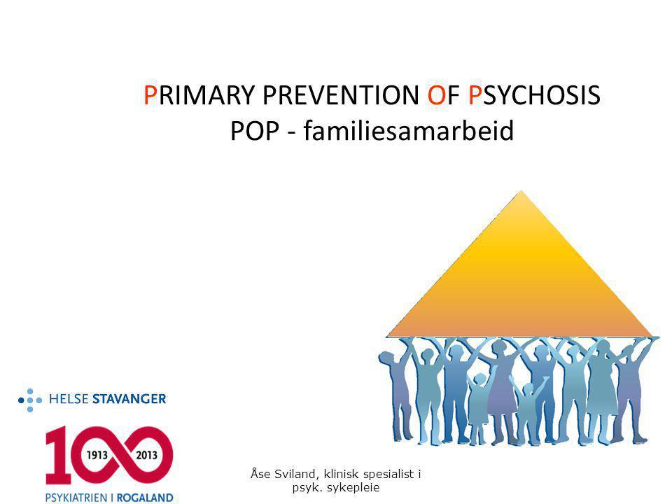 ungdom som står i fare for å utvikle psykose