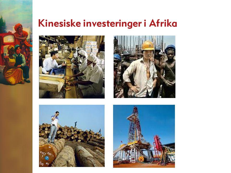 Kinesiske investeringer i Afrika