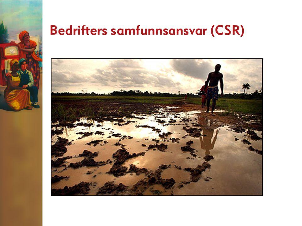 Bedrifters samfunnsansvar (CSR)