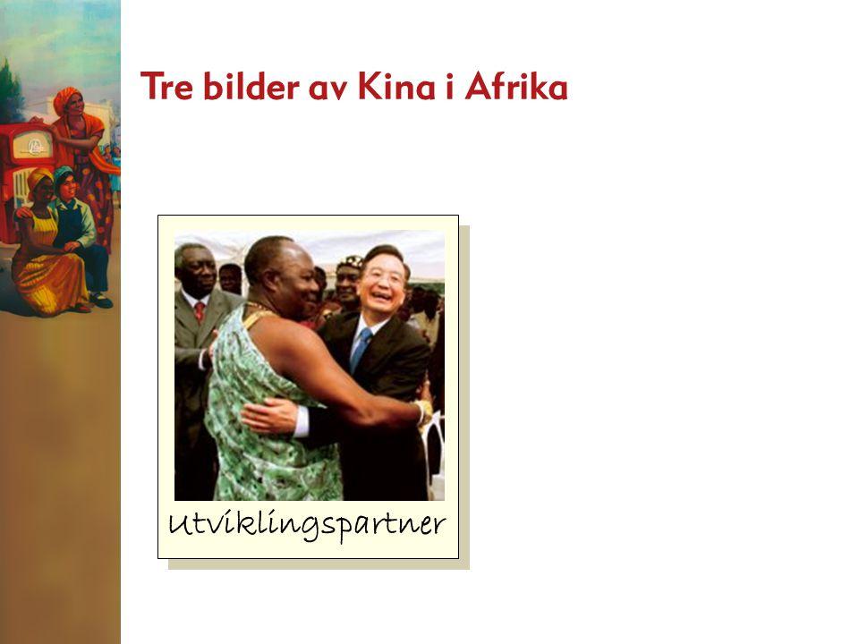 Utviklingspartner Tre bilder av Kina i Afrika