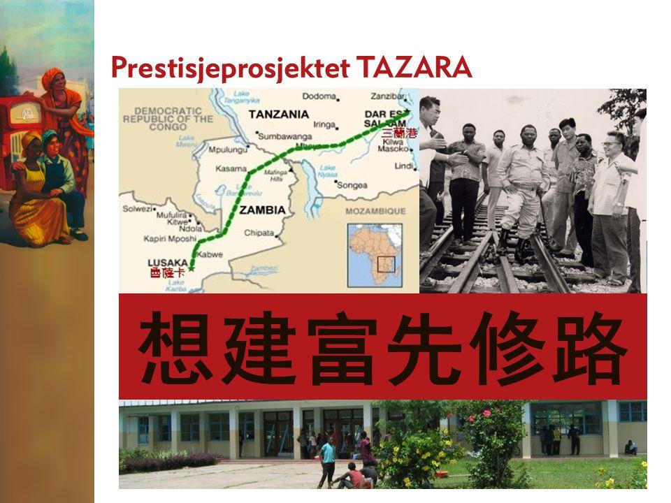 Prestisjeprosjektet TAZARA Endestasjonen til Tanzam Railway – bygget og finansiert av Kina 想建富先修路