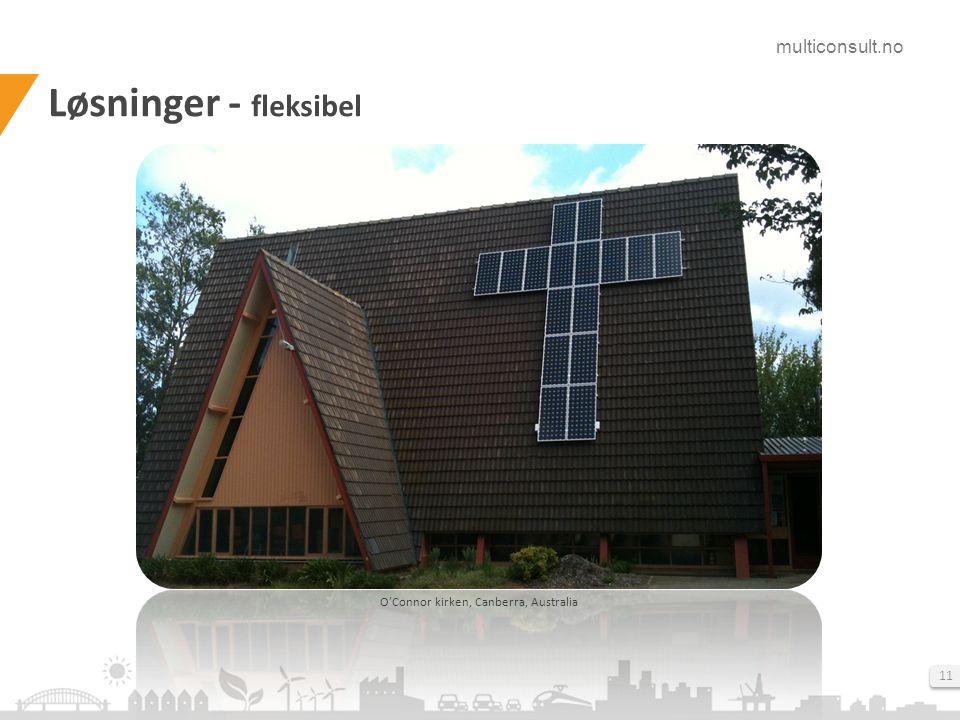 multiconsult.no 11 Løsninger - fleksibel O'Connor kirken, Canberra, Australia