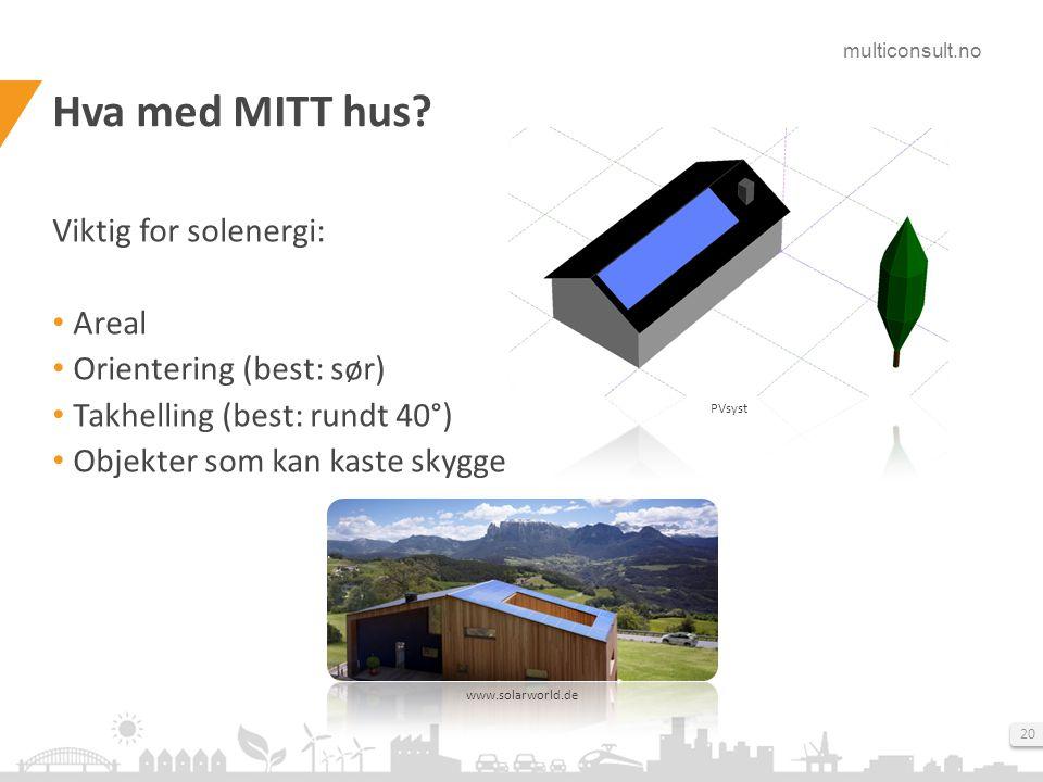 Hva er solenergi