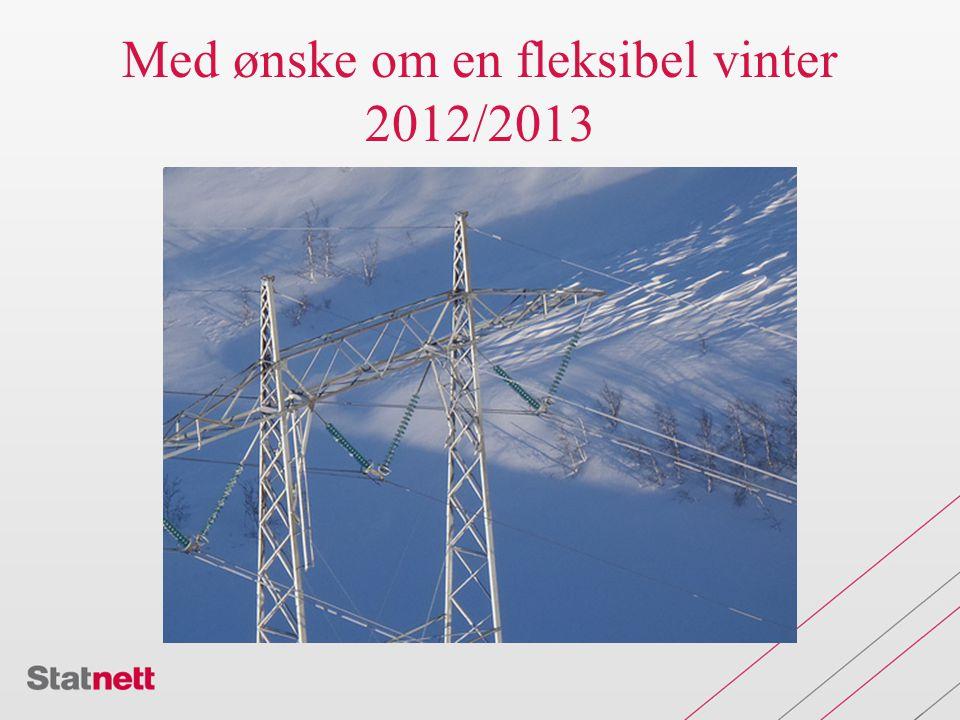 Med ønske om en fleksibel vinter 2012/2013