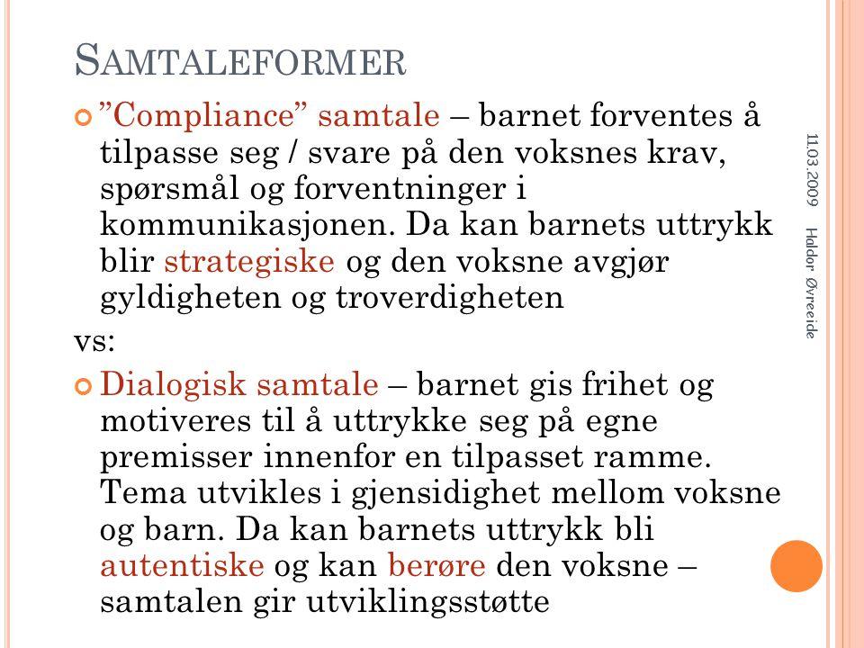 S INNETS DYADISKE KARAKTER SPEILNEVRON - SYSTEM ( FRITT ETTER S TEIN B RÅTEN ) 11.03.2009 Haldor Øvreeide