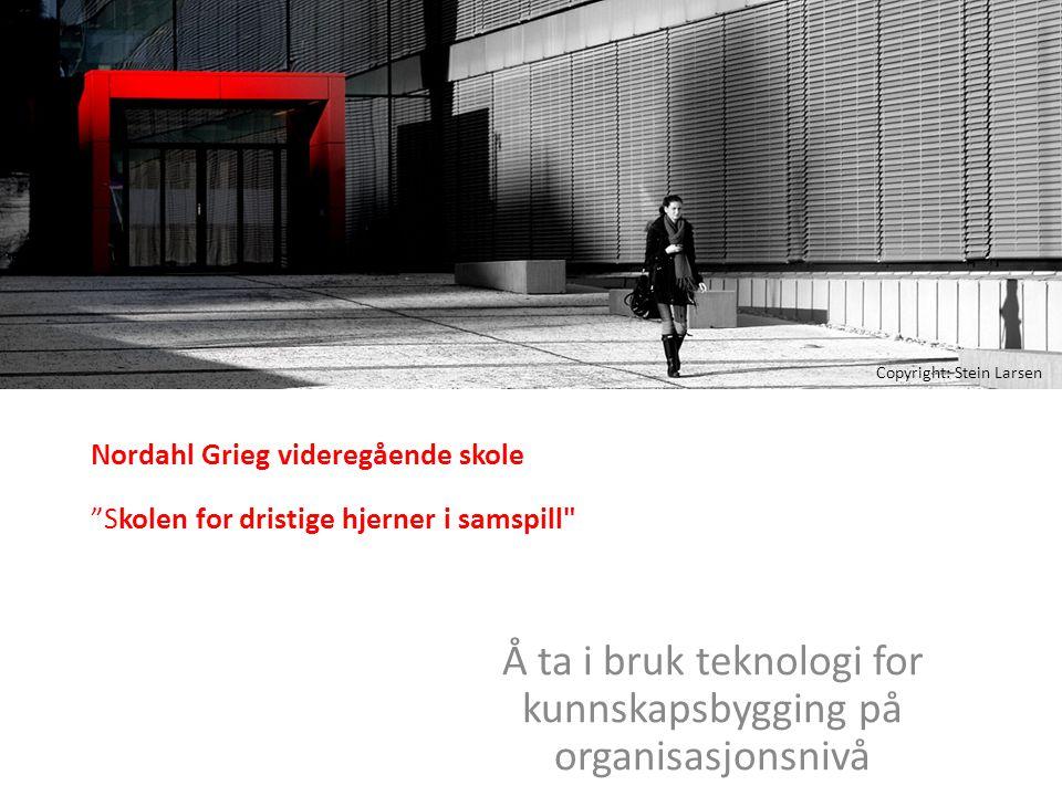 """Nordahl Grieg videregående skole """"Skolen for dristige hjerner i samspill"""