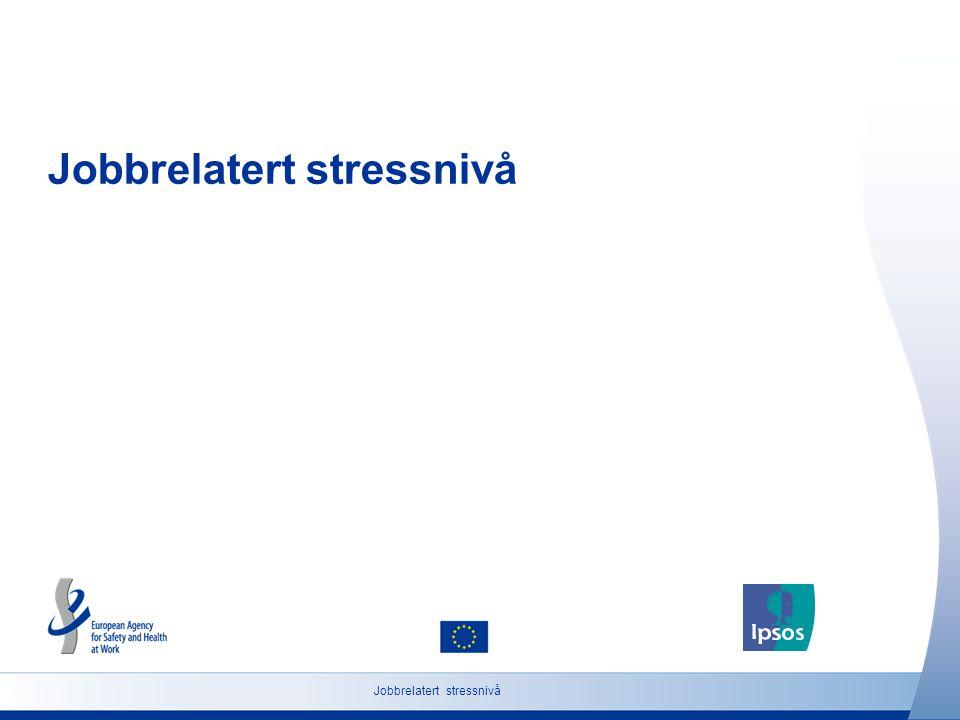 Jobbrelatert stressnivå