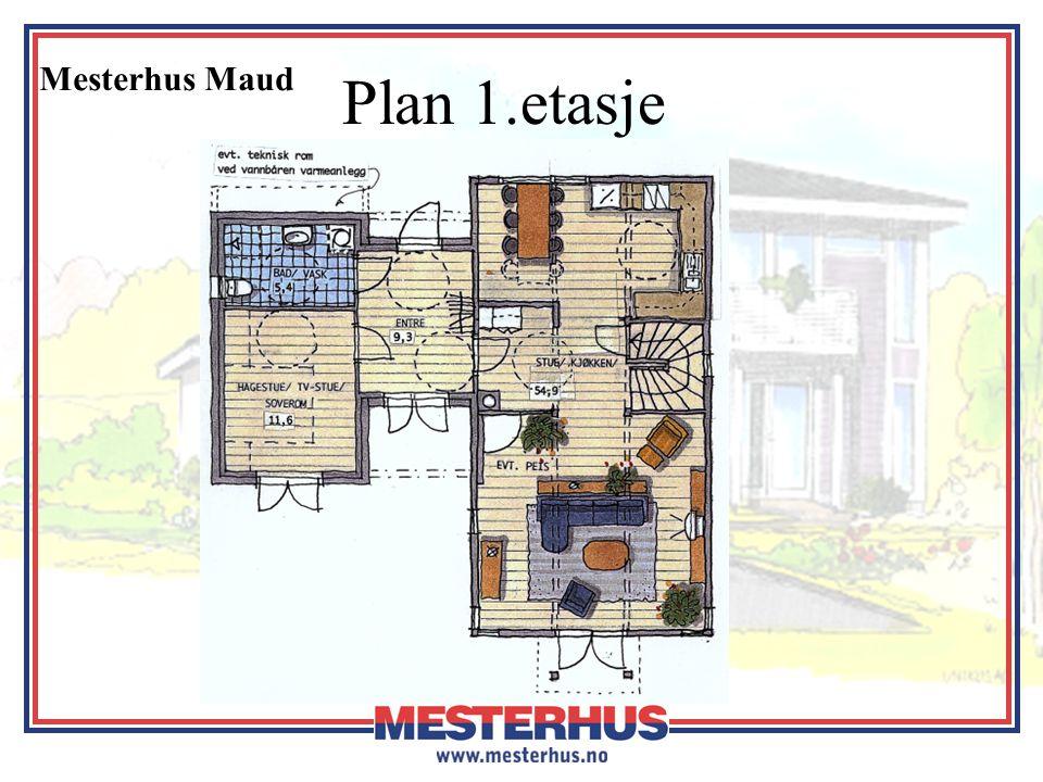 Mesterhus Maud Plan kjeller og loft