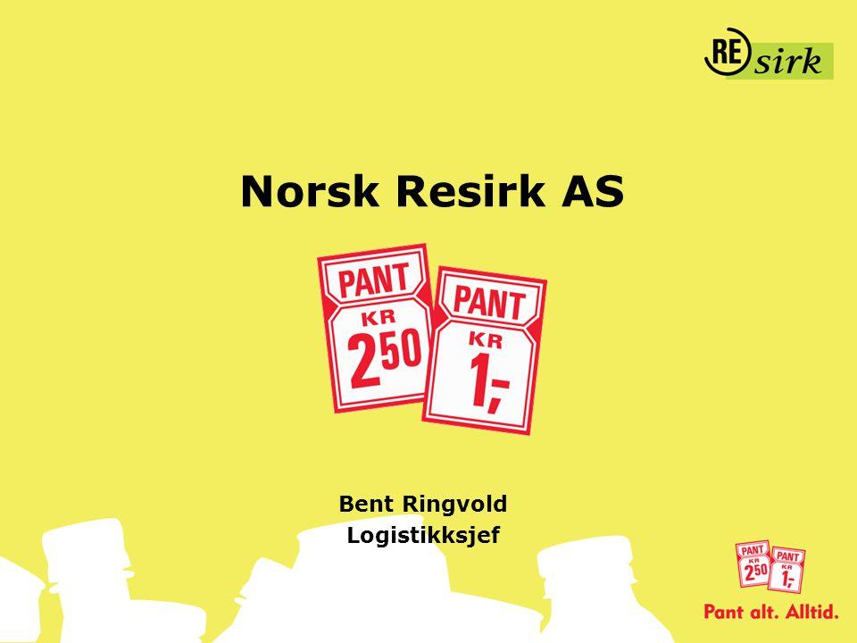 Norsk Resirk AS Bent Ringvold Logistikksjef