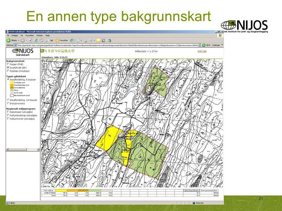 NIJOS-foredrag21 En annen type bakgrunnskart