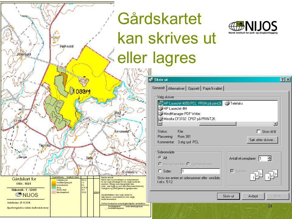 NIJOS-foredrag24 Gårdskartet kan skrives ut eller lagres