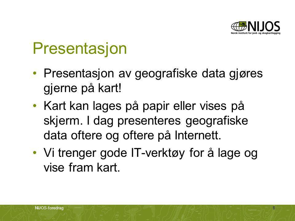 NIJOS-foredrag19 Søkesiden