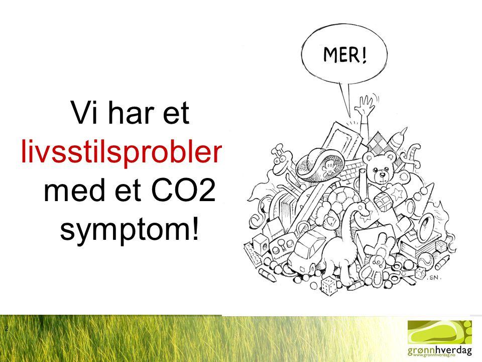 2 Vi har et livsstilsproblem med et CO2 symptom!
