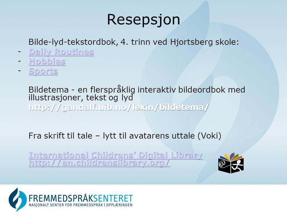 Resepsjon