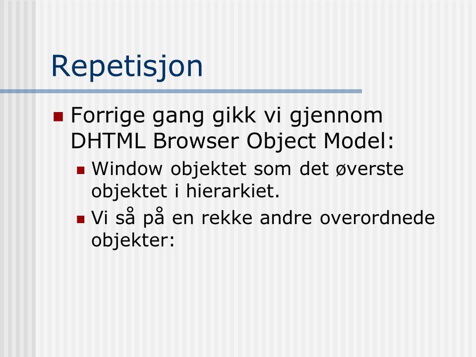 En forenklet modell window eventhistorylocationscreen dataTransfernavigator document frames window … …