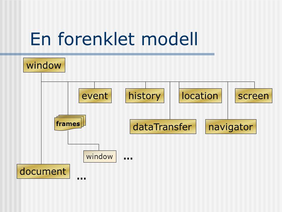 document.all eks: imax = document.all.length document.write( ) for(i = 0;i < imax;i++) if (i < 9) document.write( Element 0 + (i+1) + of + imax + : + document.all[0 + i + ].tagName = + document.all[i].tagName + ) else if (i == 9) document.write( Element + (i+1) + of + imax + : + document.all[0 + i + ].tagName = + document.all[i].tagName + ) else document.write( Element + (i+1) + of + imax + : + document.all[ + i + ].tagName = + document.all[i].tagName + ) document.write( )