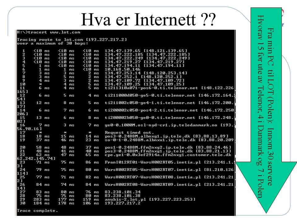 Loggeprogrammer •Spyware •Key Loggers •Trojaner •Søkemotorer •Pakkesniffere •Dataetterforskningsutstyr •Videoovervåking •Lokasjonssporing (GPS/ RFID)