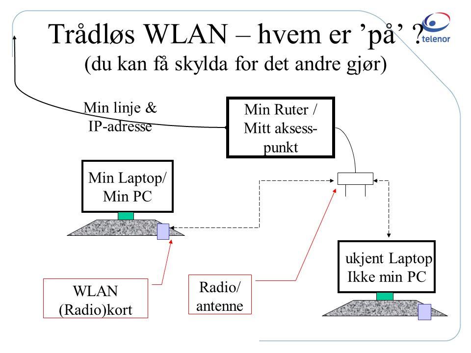 Hva er Internett ?? Fra min PC til LOT (Polen): Innom 30 servere Hvorav 15 før ute av Telenor, 4 i Danmark og 7 i Polen