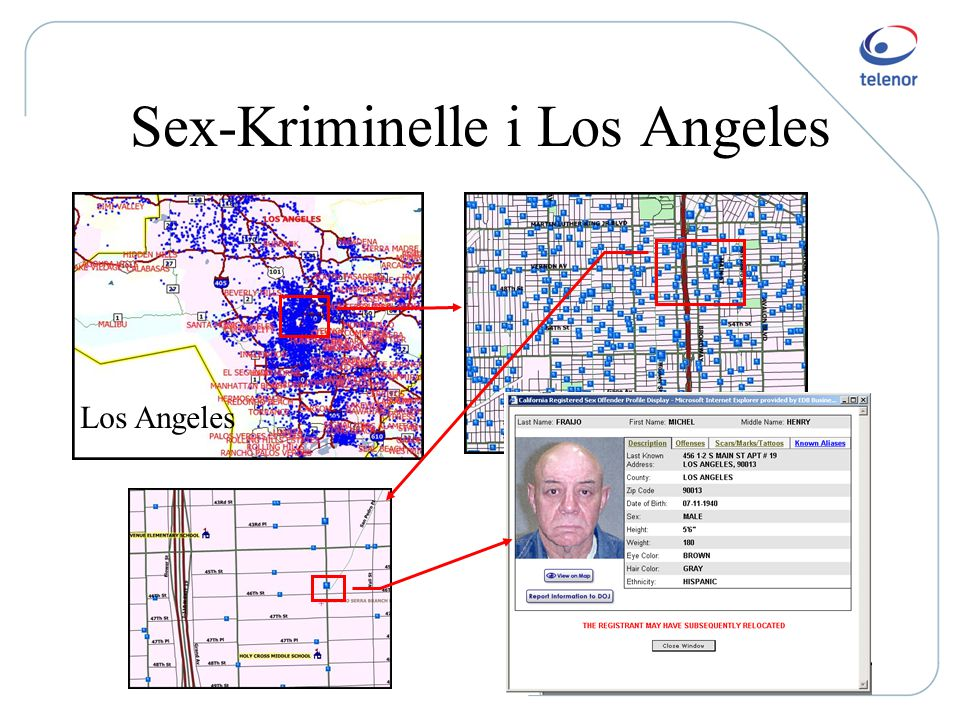 California Sex Offender Locator Map