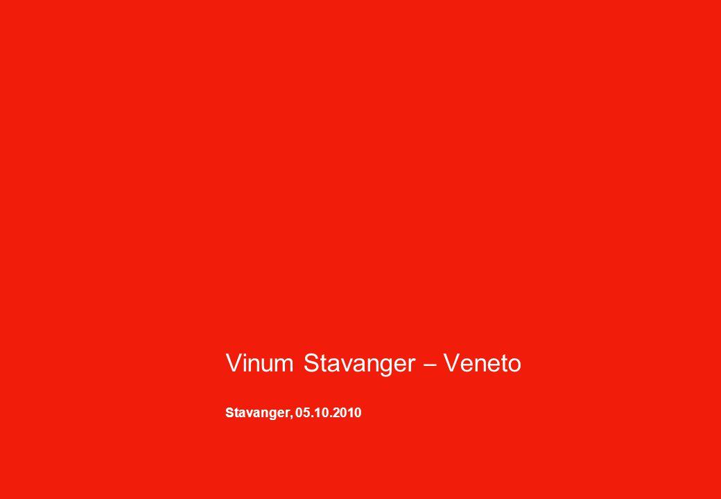 Vinum Stavanger – Veneto Stavanger, 05.10.2010