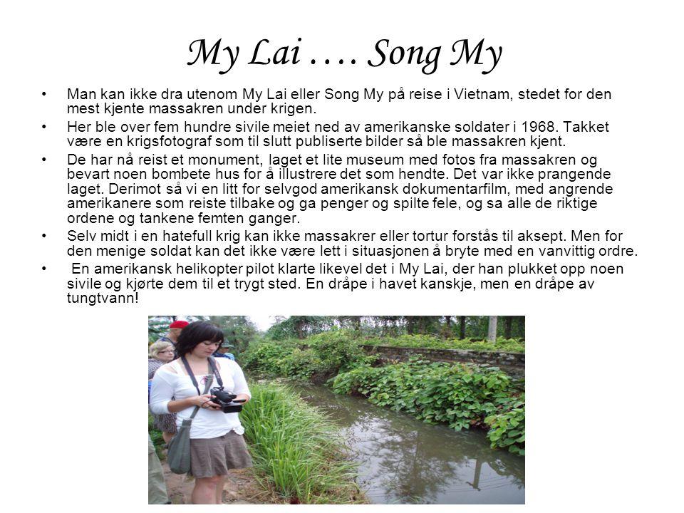 My Lai ….