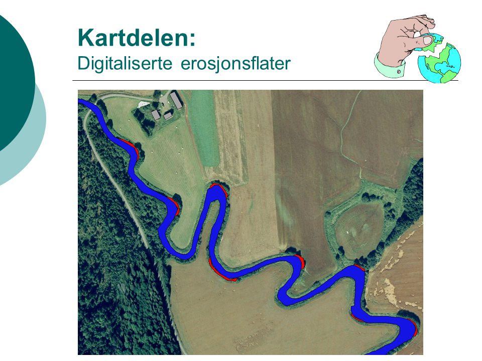 Kartdelen: Digitaliserte erosjonsflater