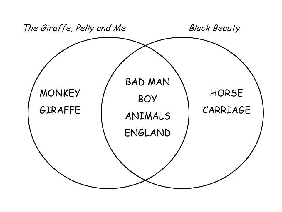 MONKEY GIRAFFE BAD MAN BOY ANIMALS ENGLAND HORSE CARRIAGE The Giraffe, Pelly and MeBlack Beauty