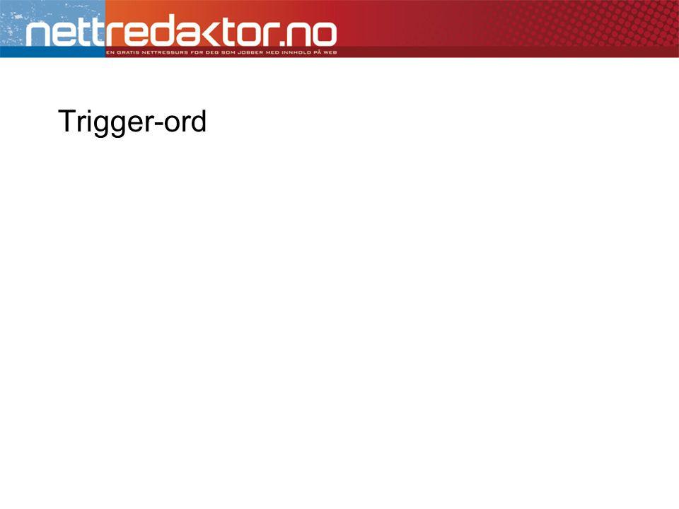 Trigger-ord
