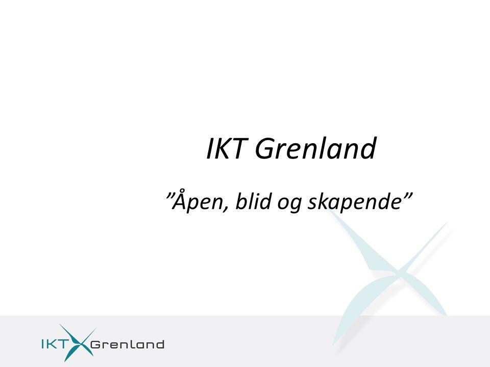 IKT Grenland Åpen, blid og skapende
