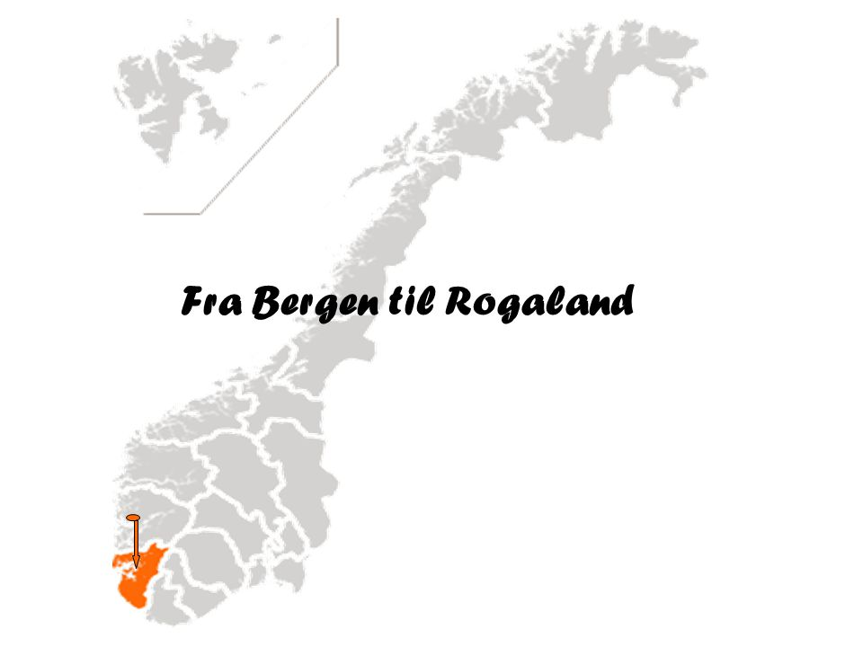 Fra Bergen til Rogaland