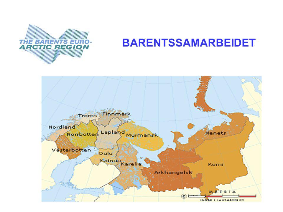 Befolkning ca.6 mill  Størrelse 3X Frankrike  Største by Murmansk ca.