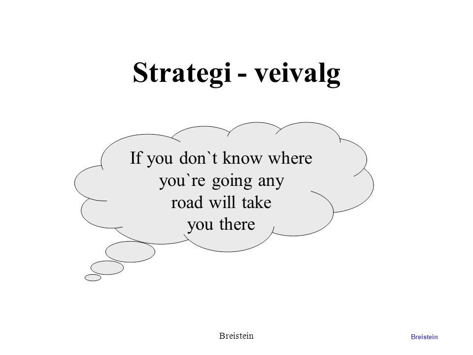 What is Strategy? Breistein