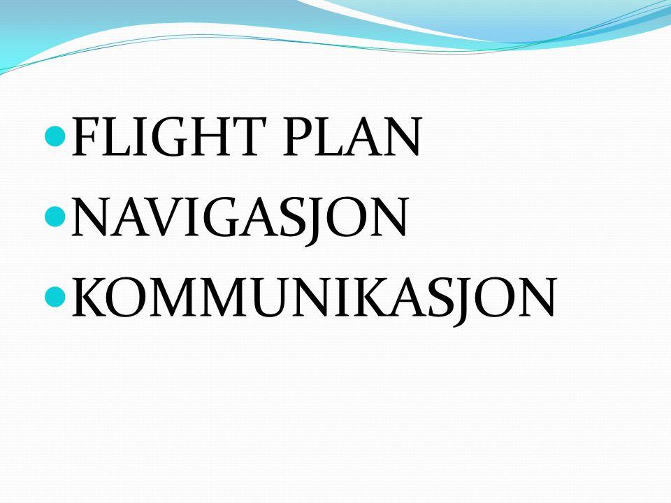 PRAKTISKE HJELPEMIDLER FLIGHT PLAN  PC 1,0-1,2 kg.