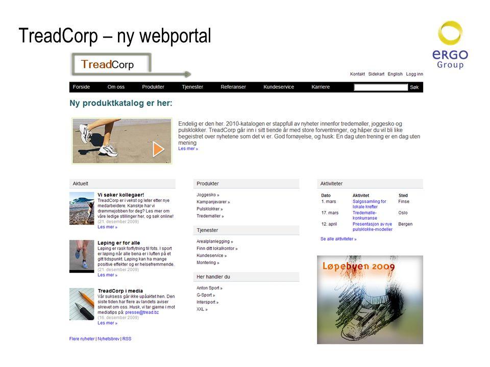 TreadCorp – ny webportal