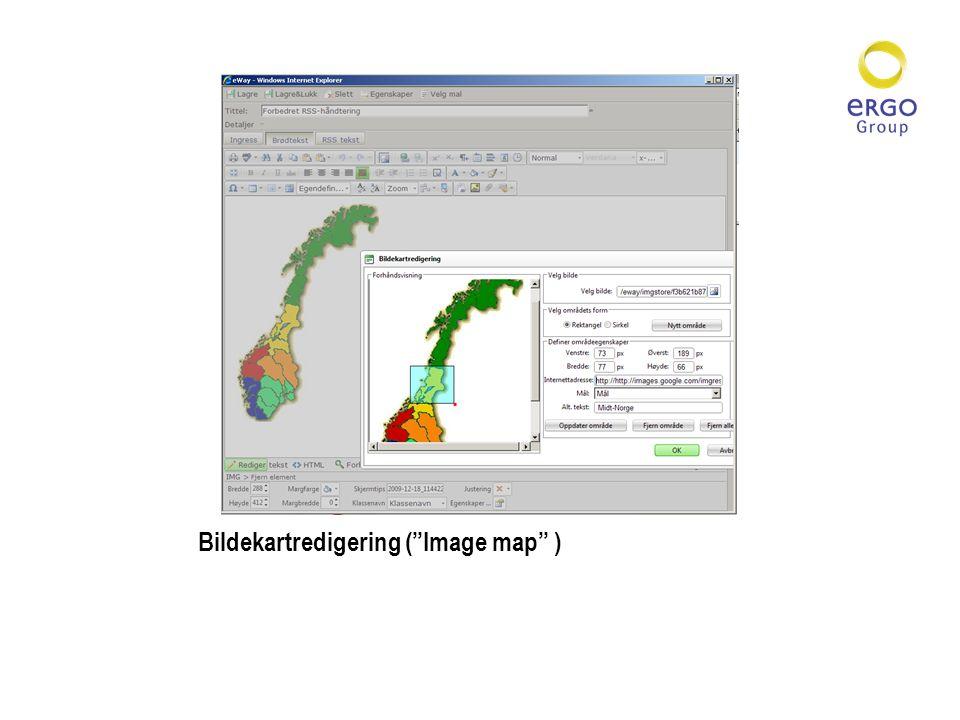 Bildekartredigering ( Image map )