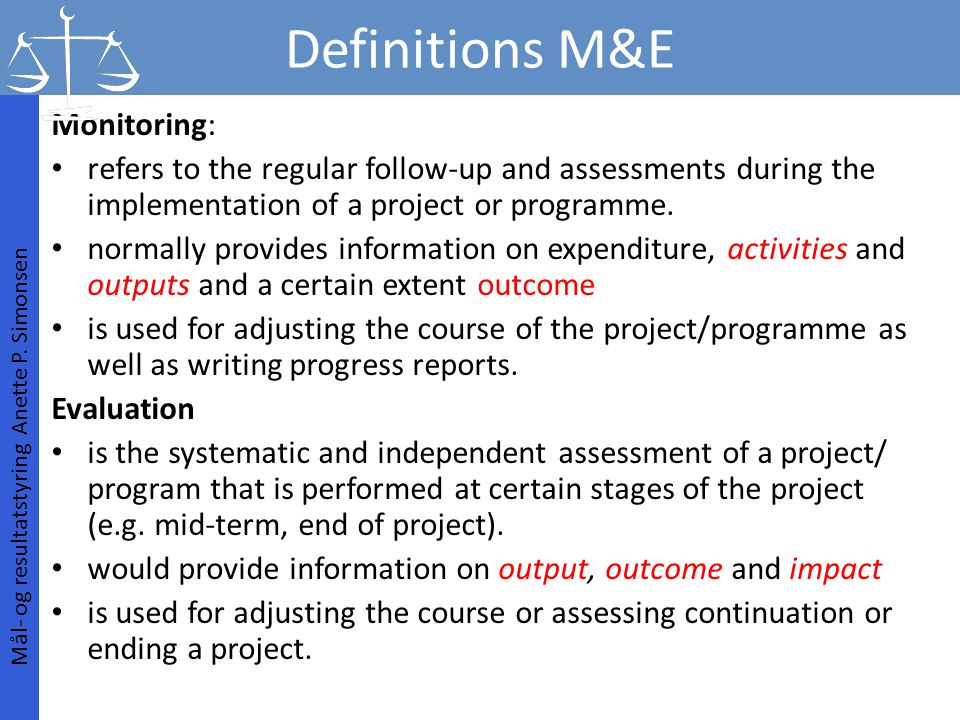 Objective of Base line study The main objectives of the baseline survey are: • To get an initial baseline standing/situation/ context of the current and existing governance and livelihood situation, systems and structures in the impact areas • To establish baseline indicators for the programme that will imply a clear monitoring and evaluation plan (M&E) and platform for impact evaluation (IE) • To source information that is required to describe qualitatively and quantitatively the outcome indicators and output indicators for the Caritas Malawi programme on governance and livelihood.