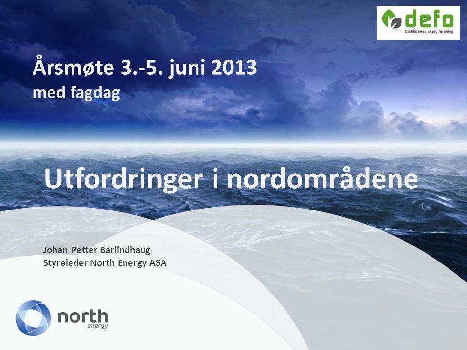 North Energy ASA, Markveien 38B, P O Box 1243, NO-9504, Norway.