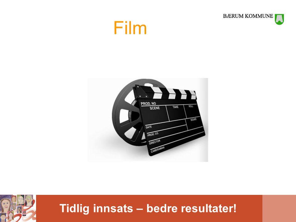 Tidlig innsats – bedre resultater! Film