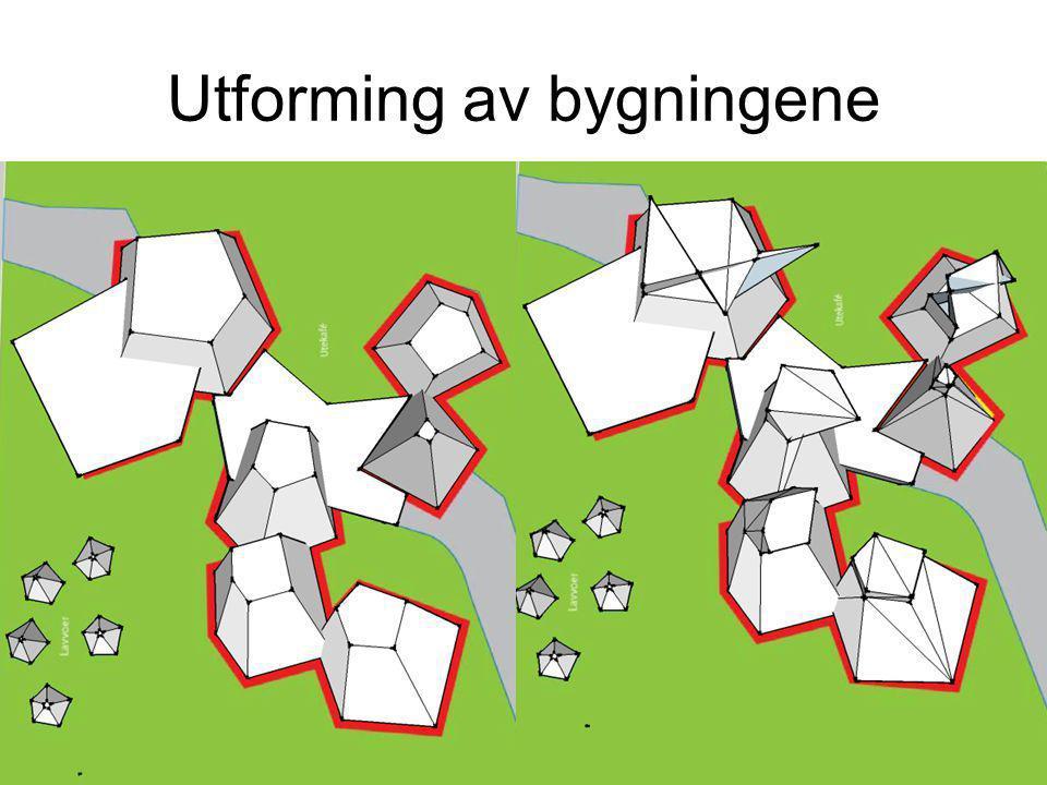 Utforming av bygningene