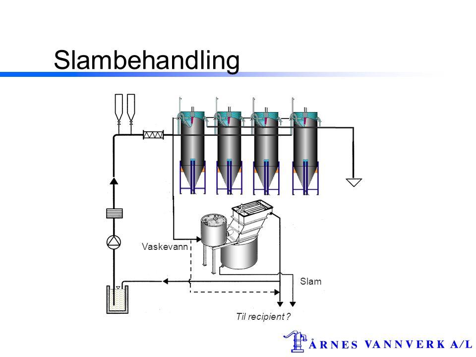 Slambehandling Til recipient ? Slam Vaskevann