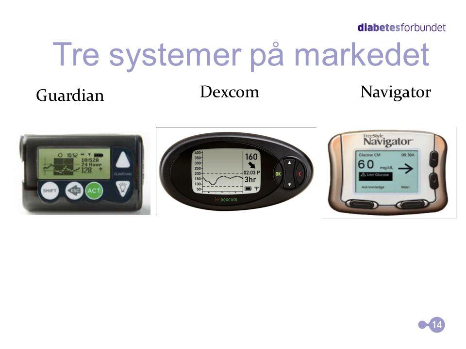  Dette er et system som har mulighet til å måle glukoseverdien i kroppen 24 timer i døgnet  Målingen skjer via en sensor som står festet på magen el