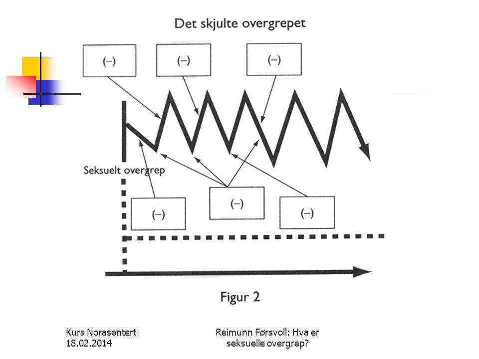 Kurs Norasentert 18.02.2014 Reimunn Førsvoll: Hva er seksuelle overgrep?
