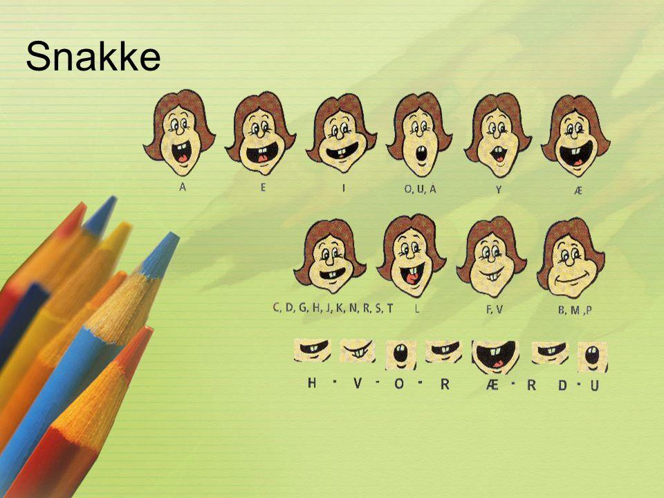 Snakke